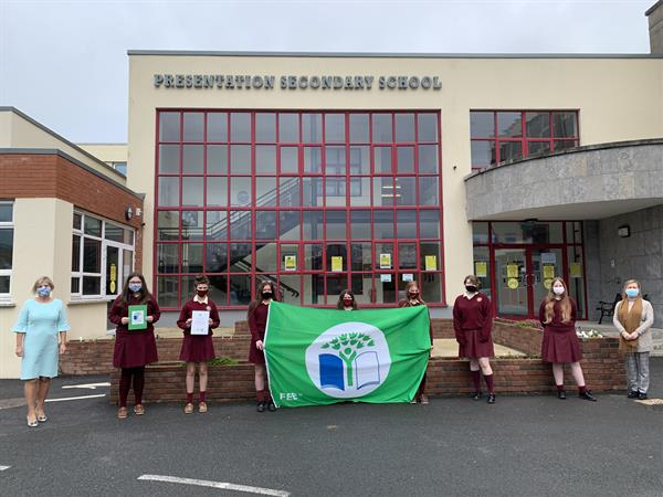 Green Flag for Pres Thurles in Biodiversity