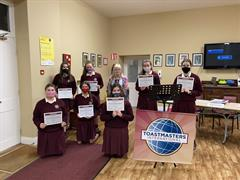 TY Toastmasters Awards